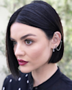 If you're in the market for something daring, go for a sharp, asymmetrical bob like Lucy Hale's. The beauty with this style is it can be as avant-garde as you want, depending on how drastic the lengths are.