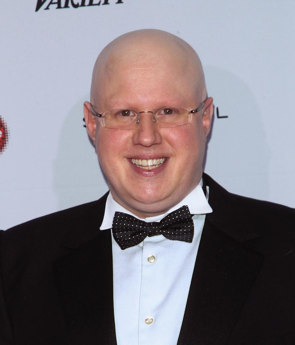 Comedian Matt Lucas attends the 2014 International Academy Of Television Arts & Sciences Awards at the New York Hilton on November 24, 2014 in New York City.  (Photo by Jim Spellman/WireImage)