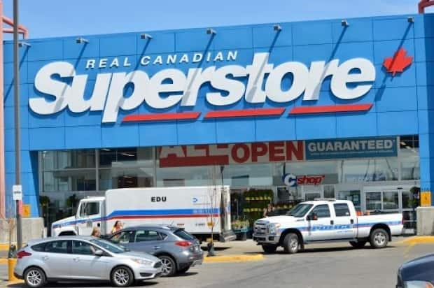 Police said they removed an item from inside the Superstore on Prince of Wales Drive and an item from a car in the parking lot on Friday. A 23-year-old has since been charged. (Alexander Quon/CBC - image credit)