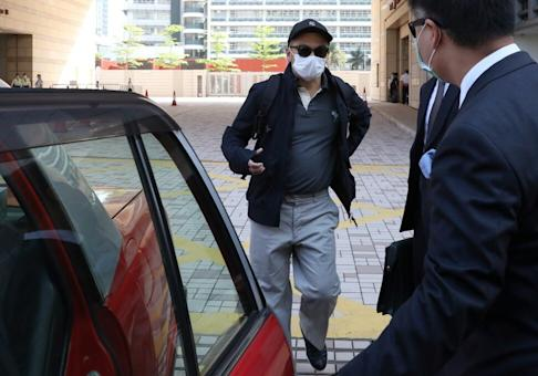 Eugene Yeoh Kim-loong, former co-head of HKEX's IPO vetting team, was charged with bribery at the West Kowloon Magistrates' Courts. Photo: Nora Tam