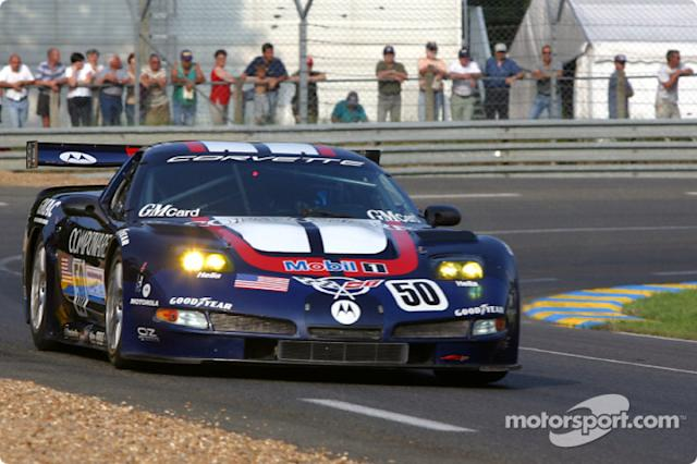"2003: #50 Corvette Racing C5: Oliver Gavin, Kelly Collins, Andy Pilgrim <span class=""copyright"">Eric Gilbert</span>"