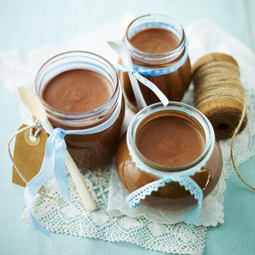 """<p>If you love Nutella as much as we do, this home-made version is irresistible. For an incredibly indulgent snack, melt a little of this spread and pour over ice cream.</p><p><strong>Recipe: <a href=""""https://www.goodhousekeeping.com/uk/food/recipes/home-made-chocolate-hazelnut-spread"""" rel=""""nofollow noopener"""" target=""""_blank"""" data-ylk=""""slk:Home-made chocolate hazelnut spread"""" class=""""link rapid-noclick-resp"""">Home-made chocolate hazelnut spread</a></strong><br><br><br></p>"""