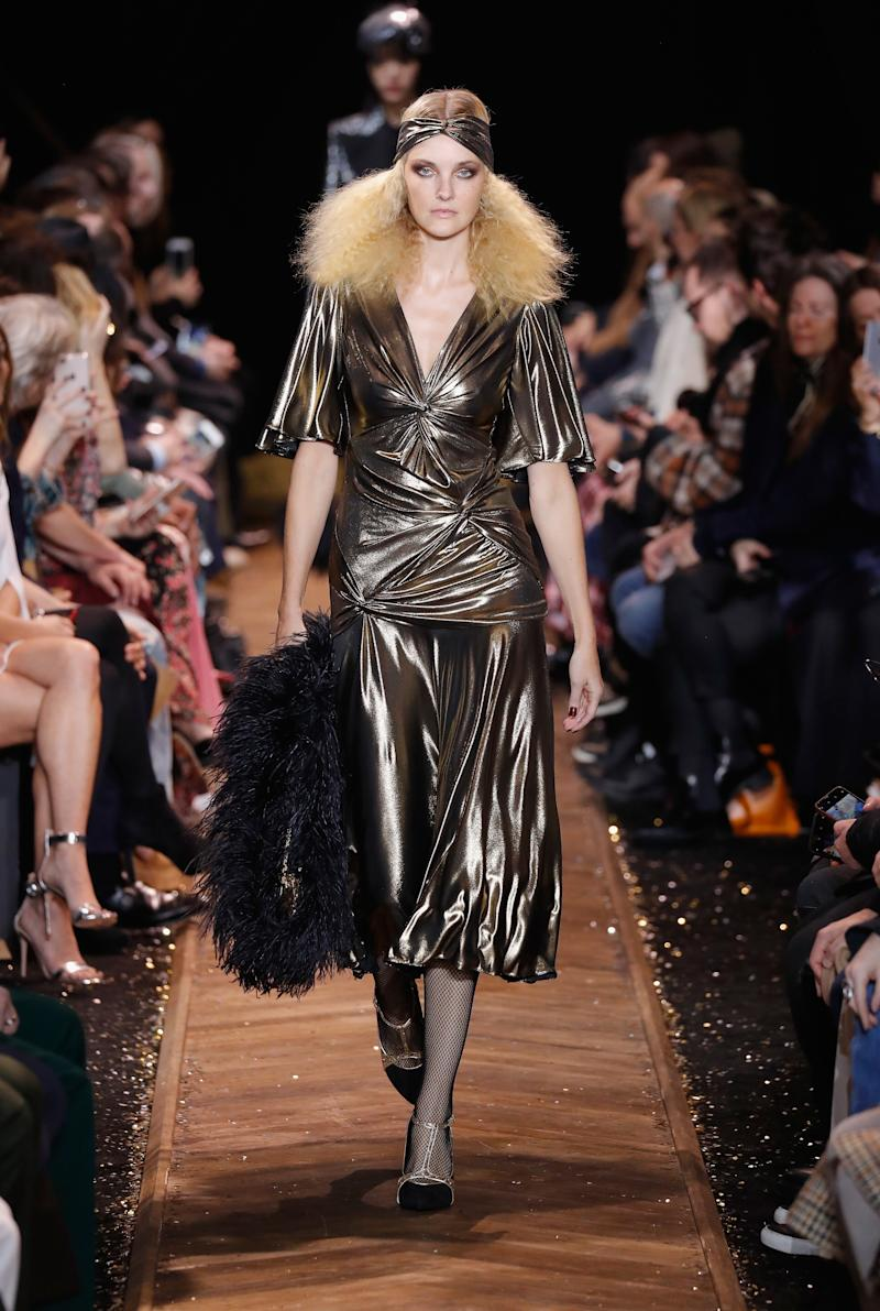 At all of 31, Caroline Trentini has already made her comeback by walking the runway of shows like Michael Kors Collection during New York Fashion Week in February 2019.