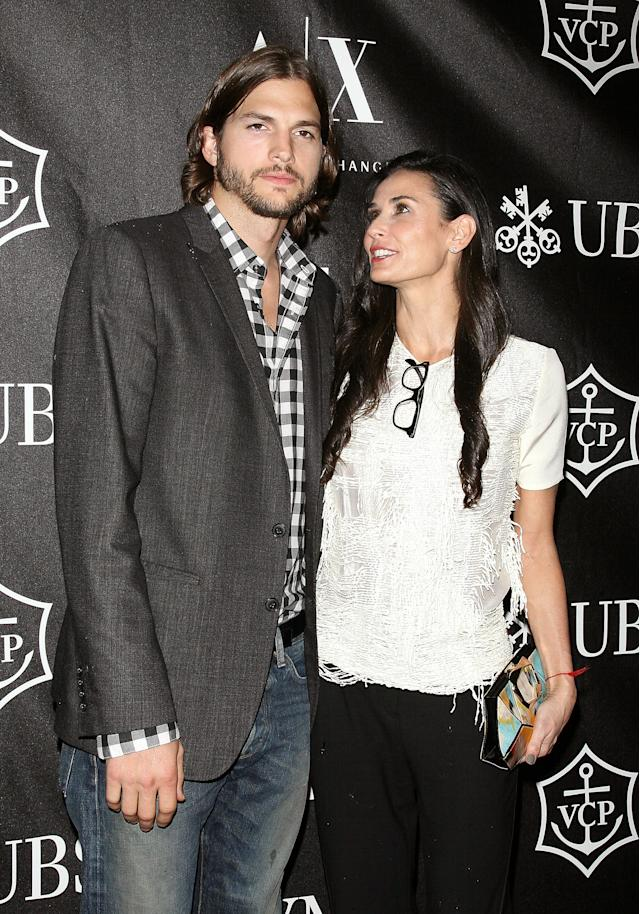 Actors Ashton Kutcher and Demi Moore in 2011 in New York City. (Photo: Jim Spellman/WireImage)