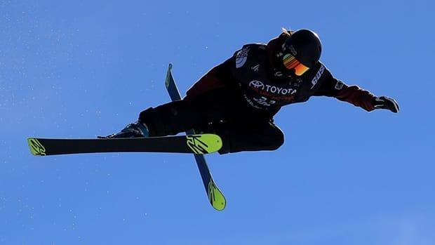 Freestyle skier Rachael Karker, of Erin, Ont., collected her first World Cup gold medal on Sunday, scoring 93.25 on her third and final run in women's halfpipe in Aspen, Colo.  (Sean M. Haffey/Getty Images/File - image credit)