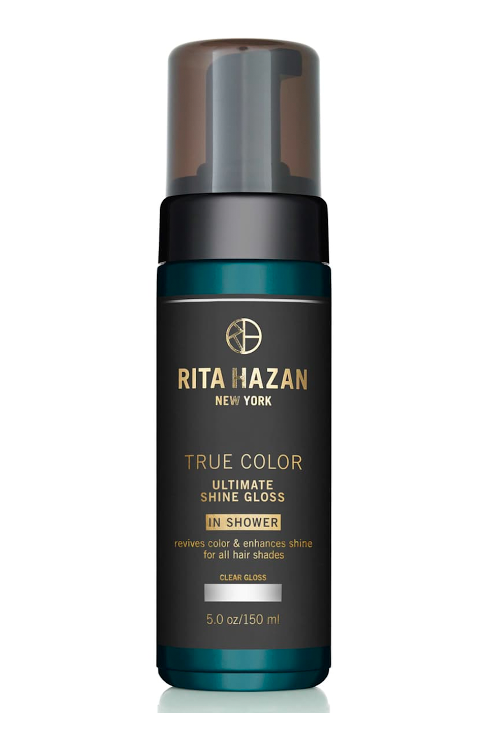 """<p><strong>Rita Hazan</strong></p><p>revolve.com</p><p><strong>$26.00</strong></p><p><a href=""""https://go.redirectingat.com?id=74968X1596630&url=https%3A%2F%2Fwww.revolve.com%2Frita-hazan-true-color-ultimate-shine-gloss-in-brown%2Fdp%2FRTHZ-WU9%2F&sref=https%3A%2F%2Fwww.cosmopolitan.com%2Fstyle-beauty%2Fbeauty%2Fg33576495%2Fbest-hair-toner%2F"""" rel=""""nofollow noopener"""" target=""""_blank"""" data-ylk=""""slk:Shop Now"""" class=""""link rapid-noclick-resp"""">Shop Now</a></p><p>Unlike toners that are limited to weekly or bi-weekly use, this in-shower gloss <strong>can be used up to four times a week</strong>. It comes in five shades and works to cancel out harsh, brassy tones in between salon appointments. Lather a pump through your hair after shampooing, leave it on for three to five minutes, rinse, and follow with <a href=""""https://go.redirectingat.com?id=74968X1596630&url=https%3A%2F%2Fwww.ulta.com%2Fp%2Fall-soft-conditioner-xlsImpprod15511073&sref=https%3A%2F%2Fwww.cosmopolitan.com%2Fstyle-beauty%2Fbeauty%2Fg33576495%2Fbest-hair-toner%2F"""" rel=""""nofollow noopener"""" target=""""_blank"""" data-ylk=""""slk:conditioner"""" class=""""link rapid-noclick-resp"""">conditioner</a>.</p>"""