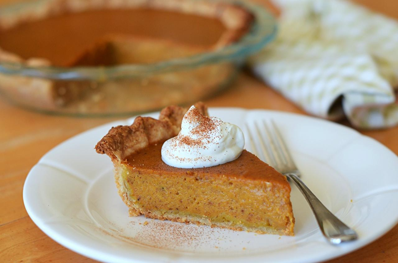 """<p>Pumpkin pie is a staple but is notoriously difficult to perfect. Jenn Segal at Once Upon a Chef shares her recipe for a pumpkin pie that won't crack down the center, end with a soggy crust, or finish with a filling that won't set properly. It is, as she's termed it, the perfect pumpkin pie. <br /><br /><a rel=""""nofollow"""" href=""""http://www.onceuponachef.com/2015/11/perfect-pumpkin-pie.html"""">Get the recipe</a>. </p>"""