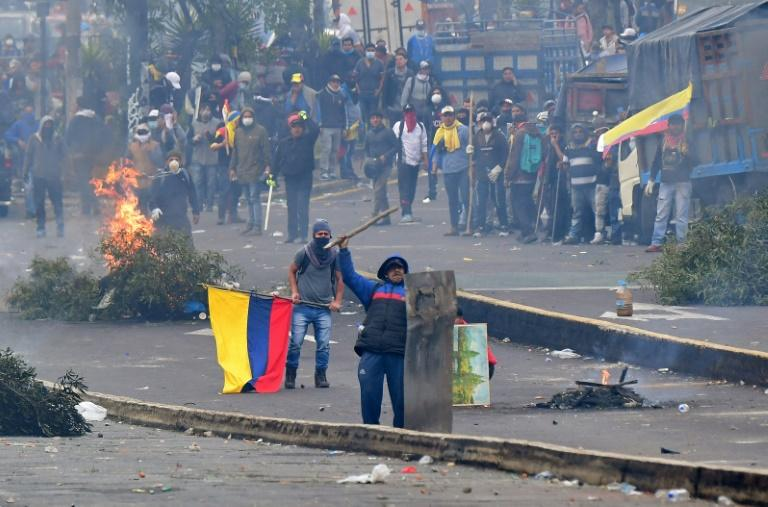 Economic reforms have sparked the biggest protests in decades in Ecuador