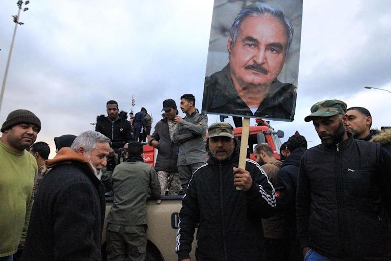 Forces loyal to Libyan strongman Haftar announce ceasefire