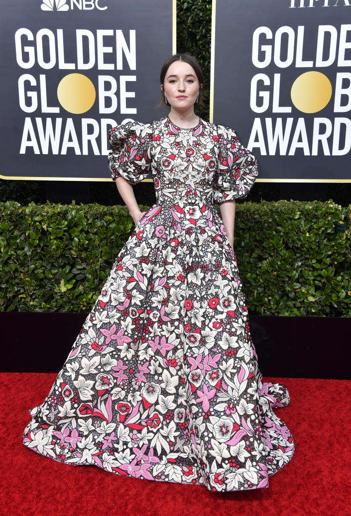 Kaitlyn Dever attends the 77th Annual Golden Globe Awards [Photo: Getty]