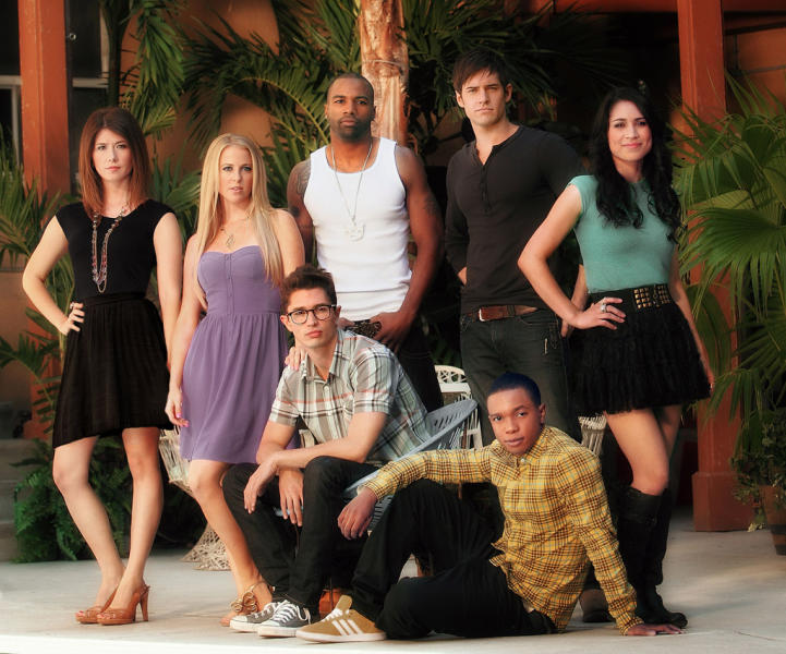 """The cast of """"L.A. Complex"""""""