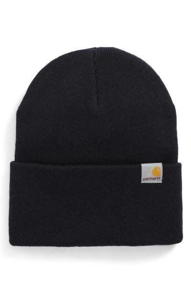 Keep it simple yet structured with this <span>durable 9-gauge stretch-knit cap</span>&nbsp;with versatile wearability to slouch back or ride lower on the forehead.
