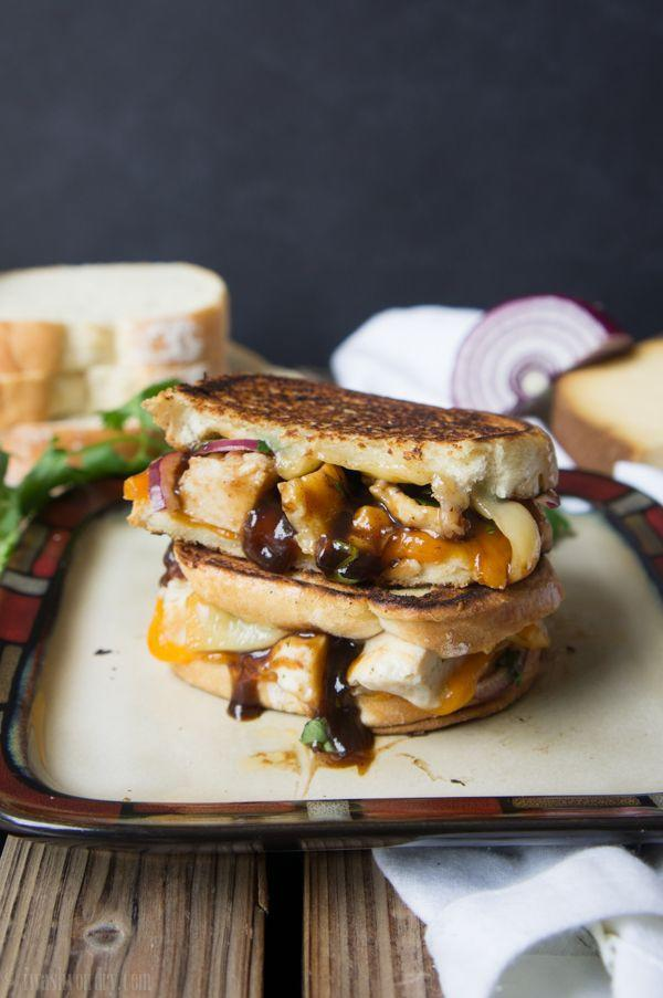 """<p>Smoked gouda cheese + BBQ sauce is a match made in grilled cheese heaven.</p><p>Get the recipe from <a href=""""http://www.iwashyoudry.com/2013/05/06/bbq-chicken-grilled-cheese-sandwich/"""" rel=""""nofollow noopener"""" target=""""_blank"""" data-ylk=""""slk:I Wash You Dry"""" class=""""link rapid-noclick-resp"""">I Wash You Dry</a>.</p>"""