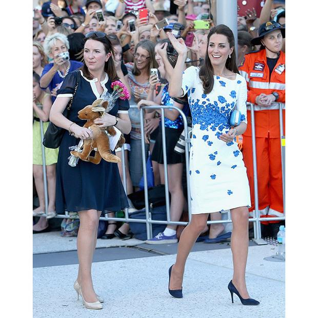 Rebecca Deacon with Kate Middleton