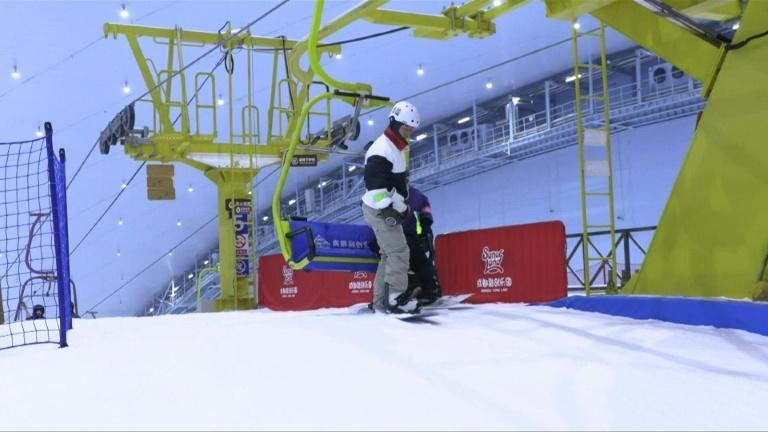Winter Olympics prompts skiing construction boom in China