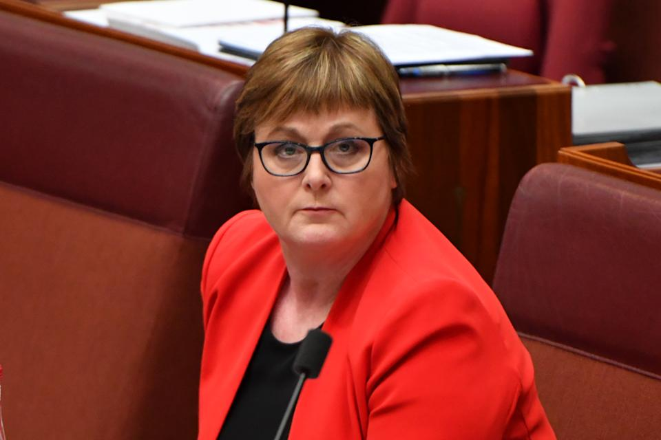 Minister for Defence Linda Reynolds has issued a formal apology to alleged rape victim Brittany Higgins. Source: AAP