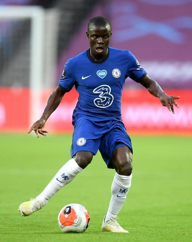 N'Golo Kante, pictured, is fit for Chelsea's FA Cup final against Arsenal (Michael Regan/NMC Pool)