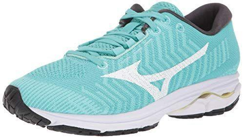 """<p><strong>Mizuno</strong></p><p>amazon.com</p><p><strong>$76.00</strong></p><p><a href=""""https://www.amazon.com/dp/B07NPCKG5Y?tag=syn-yahoo-20&ascsubtag=%5Bartid%7C2141.g.34362202%5Bsrc%7Cyahoo-us"""" rel=""""nofollow noopener"""" target=""""_blank"""" data-ylk=""""slk:Shop Now"""" class=""""link rapid-noclick-resp"""">Shop Now</a></p><p>Made with Mizuno's signature Waveknit textile, which really molds to your feet, this pair will feel more like a second skin than a clunky pair of sneakers.</p>"""