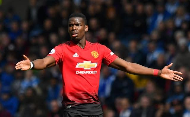 Manchester United midfielder Paul Pogba has been linked with a move from Old Trafford (Anthony Devlin/PA)