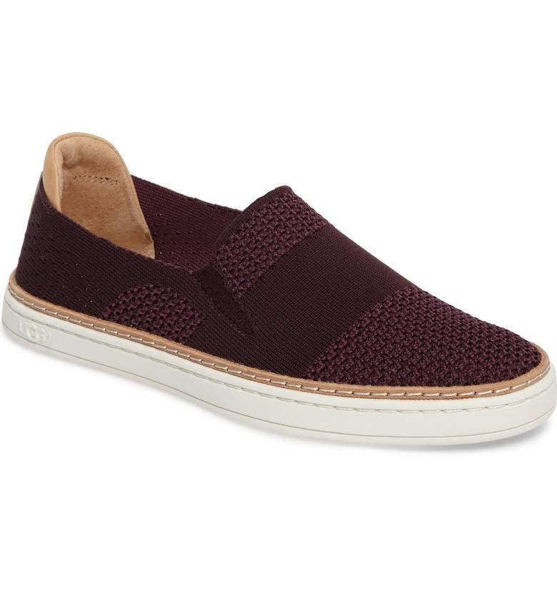 "Get it at <a href=""https://shop.nordstrom.com/s/ugg-sammy-sneaker-women/4505220?origin=category-personalizedsort&fashioncolor=BLACK%20HEATHER"" target=""_blank"">Nordstrom</a>, $110."