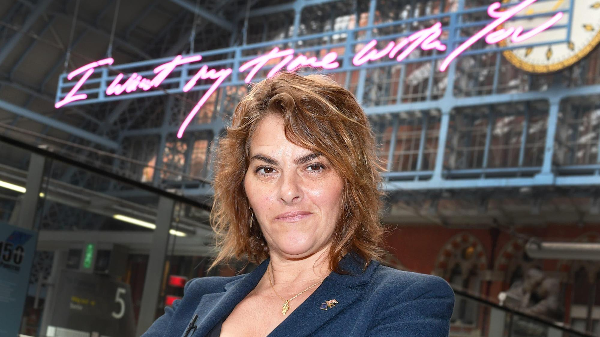 Tracey Emin 'a bit envious' of revellers at Liverpool pilot concert