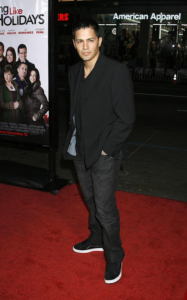 "<a href=""http://movies.yahoo.com/movie/contributor/1804725965"">Jay Hernandez</a> at the Los Angeles premiere of <a href=""http://movies.yahoo.com/movie/1809991685/info"">Nothing Like the Holidays</a> - 12/03/2008"