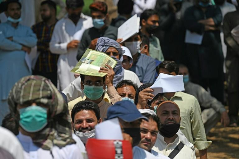With most Gulf flights from Pakistan cancelled as the country is added to a growing number of coronavirus travel blacklists, thousands of workers are hoping to reach the kingdom after first spending two weeks in Kabul