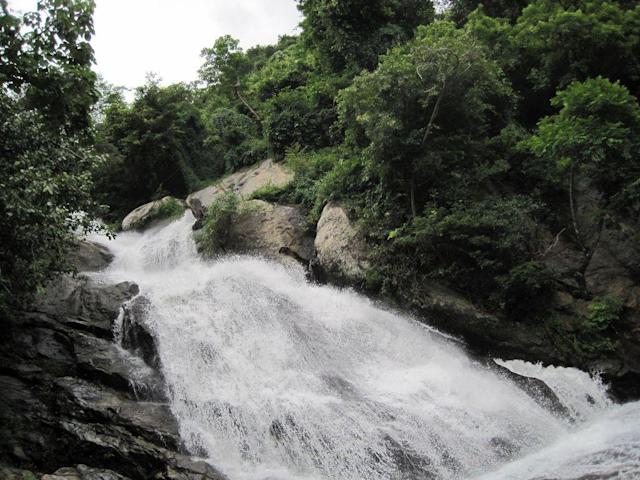 "Monkey Falls near Pollachi, Tamil Nadu is on the way to hill station of Valparai. <br>by <a href=""https://www.flickr.com/photos/siva301in/"" rel=""nofollow noopener"" target=""_blank"" data-ylk=""slk:Siva301in/ Flickr"" class=""link rapid-noclick-resp"">Siva301in/ Flickr</a><br><br>ALSO SEE:<br><a href=""http://in.lifestyle.yahoo.com/valparai---in-the-heart-of-a-bountiful-rainforest.html"" data-ylk=""slk:Valparai: In the heart of a bountiful rainforest;outcm:mb_qualified_link;_E:mb_qualified_link"" class=""link rapid-noclick-resp newsroom-embed-article"">Valparai: In the heart of a bountiful rainforest</a>"