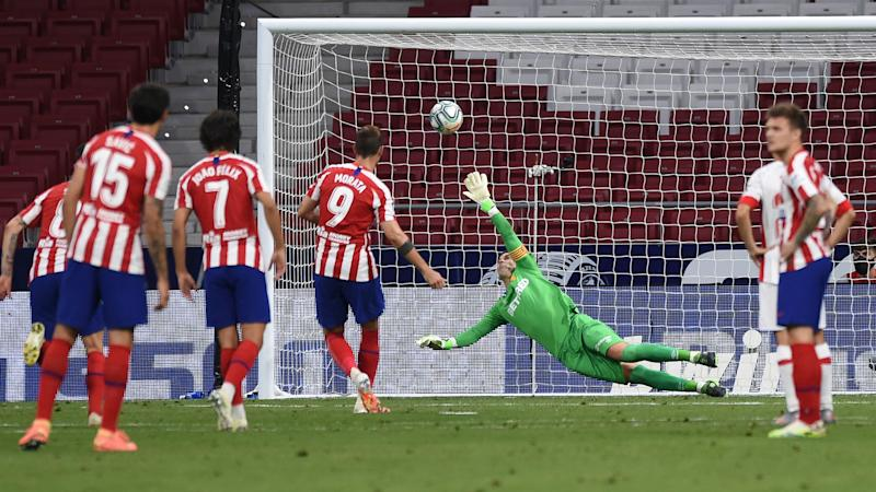 Atletico Madrid 3-0 Real Mallorca: Morata at the double for Simeone's in-form side