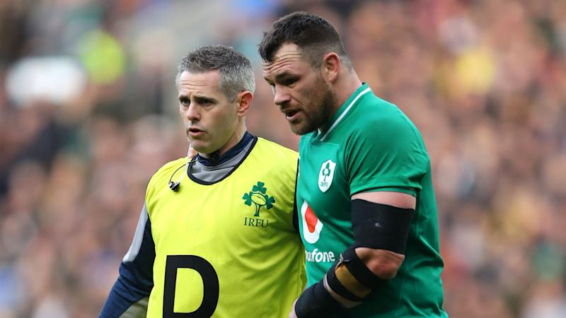 Six Nations over for Ireland prop Healy