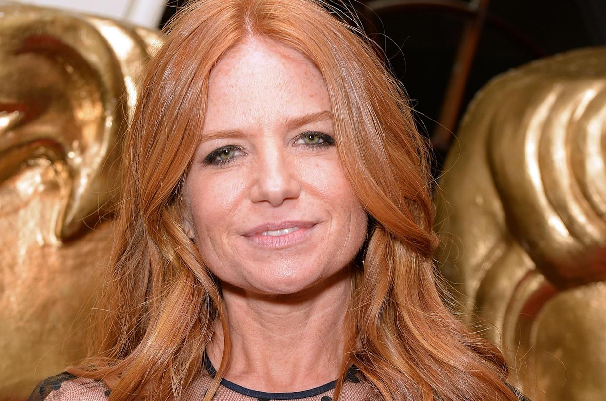Patsy Palmer abruptly ended her GMB interview. (Photo by Dave J Hogan/Getty Images)