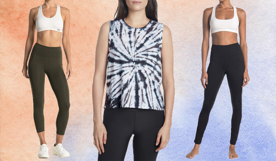 Save up to 81 percent on activewear. (Photo: Nordstrom Rack)