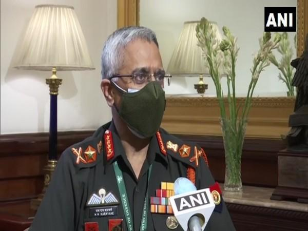 Army Chief General MM Naravane speaking to ANI on Wednesday.