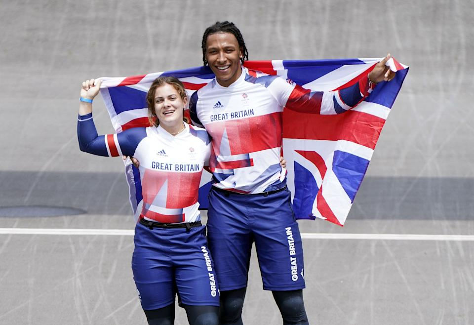 Beth Shriever and Kye Whyte helped make history (Danny Lawson/PA) (PA Wire)