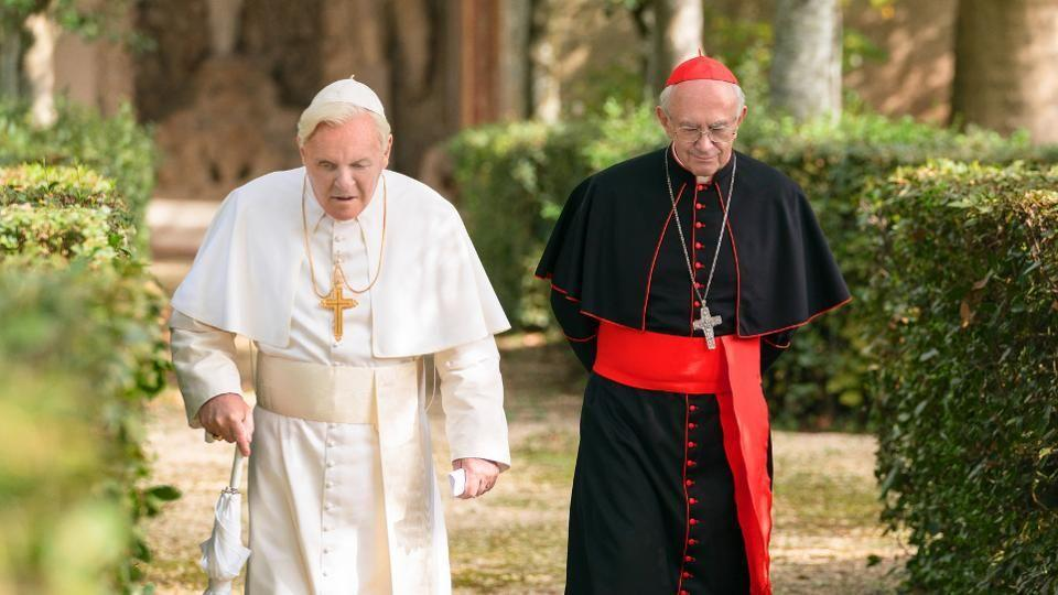 "<p>There are few things that would make the film version of the complicated real-life relationship between Pope Benedict and Pope Francis a must-watch. Casting heavyweights Anthony Hopkins and Jonathan Pryce, respectively, as the former (and current) leaders of the Catholic church is one of them.</p><p><a class=""link rapid-noclick-resp"" href=""https://www.netflix.com/title/80174451"" rel=""nofollow noopener"" target=""_blank"" data-ylk=""slk:Watch Now"">Watch Now</a></p>"