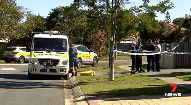 The young woman suffered burns to under 10 per cent of her body. Photo: 7 News
