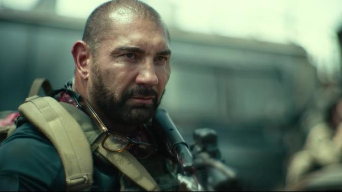 Dave Bautista dalam film Army of the Dead. (Netflix)