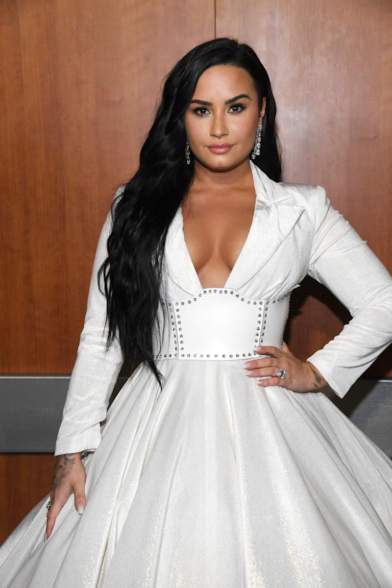 Demi Lovato Opened Up About Her Emotional Grammys Performance