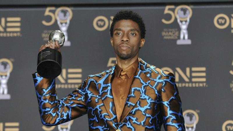 VMAs pay touching tribute to Chadwick Boseman