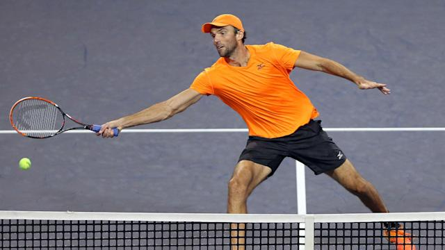 Seeded pair Ivo Karlovic and Alexander Zverev made it into the quarter-finals of the Stockholm Open on Wednesday.