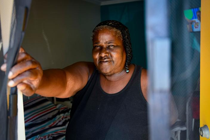 Latanya Brown has been a resident at The Reno Motel since January 2019, and was living in her van for two years beforehand.