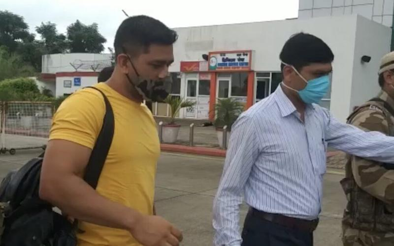 MS Dhoni Reaches Chennai for IPL 2020 To Join CSK Camp, Excited Trend #Dhoni, Share Pics and Videos
