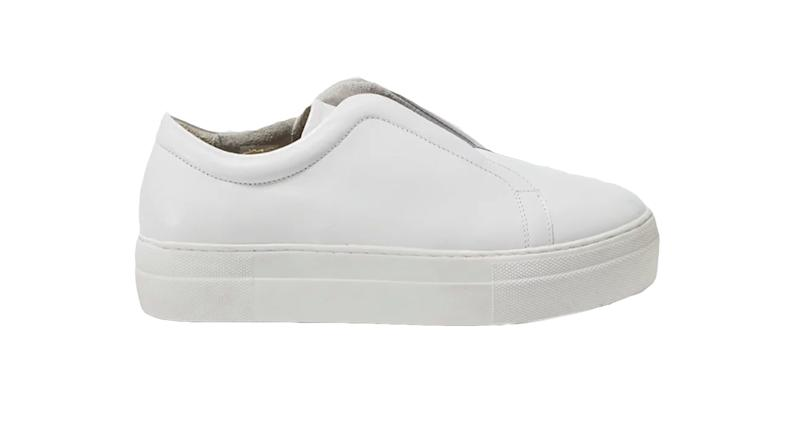French Connection Sara Elastic Slip On Trainers