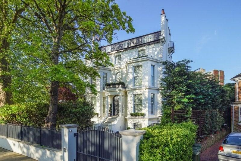 Rihanna's London home goes on sale for £32m
