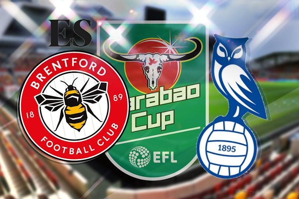 Brentford host Oldham in the third round of the Carabao Cup  (ES Composite)