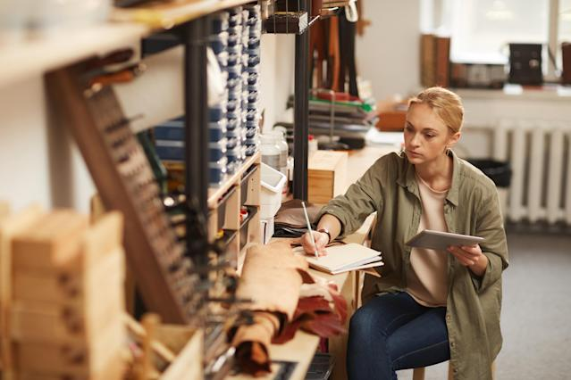 It can be hard to draw a line between your work and personal life if you are self-employed. (Getty)