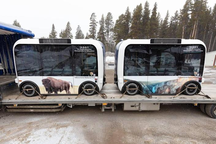 Yellowstone is the first national park to test automated shuttles within the park.