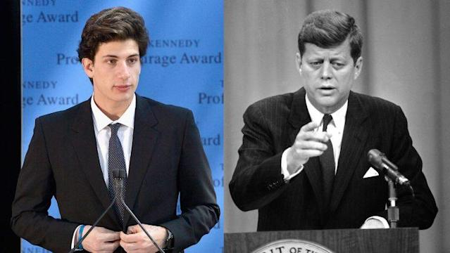 Jack Schlossberg and his grandfather, President John F. Kennedy (Photo: Getty Images)