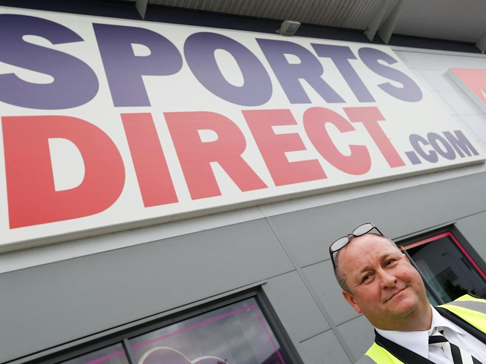 <p>Mike Ashley, chief executive of Sports Direct owner Frasers Group</p> (Reuters)