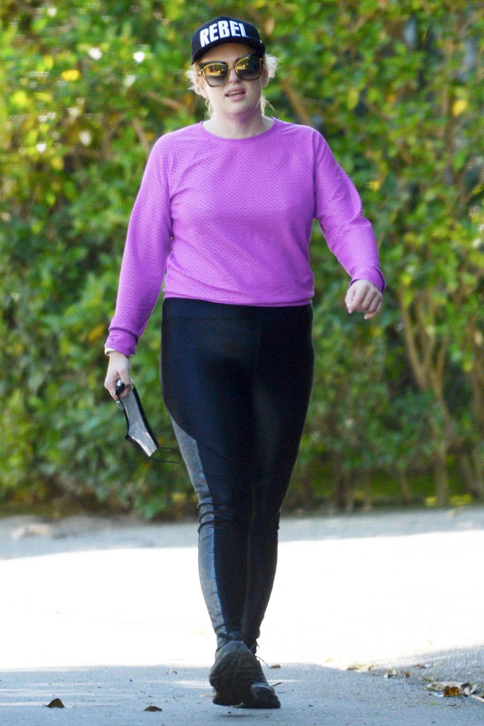 <p>Rebel Wilson celebrated her 41st birthday by taking a hike in L.A. on Tuesday. </p>